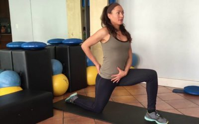Hip Flexor Stretches: back relief from too much sitting